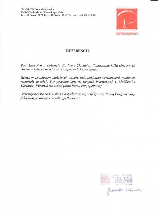 referencjeTłumaczenia